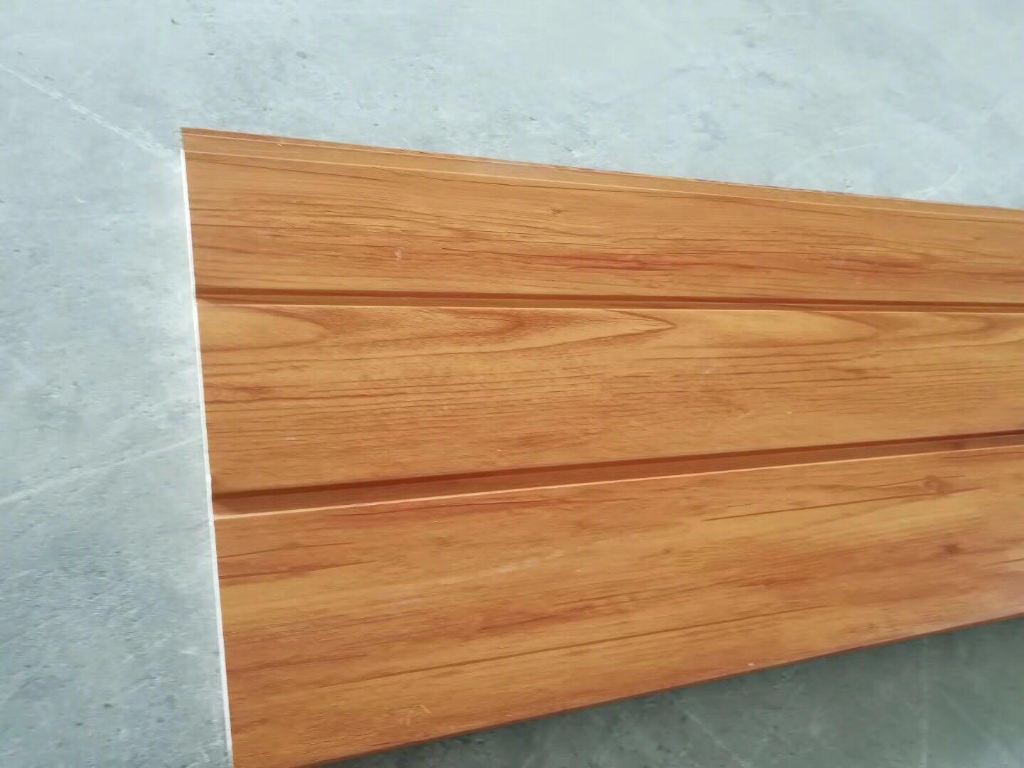 Imitation wood grain board Thermal insulation decorative board 2