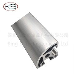 Industrial  arched aluminum sections products of Aluminum profile