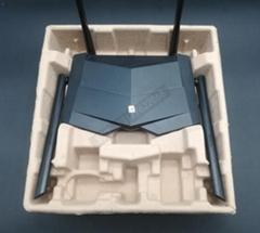 江西乐平环保纸托干压路由器纸塑包装材料