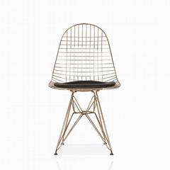 金屬線餐椅