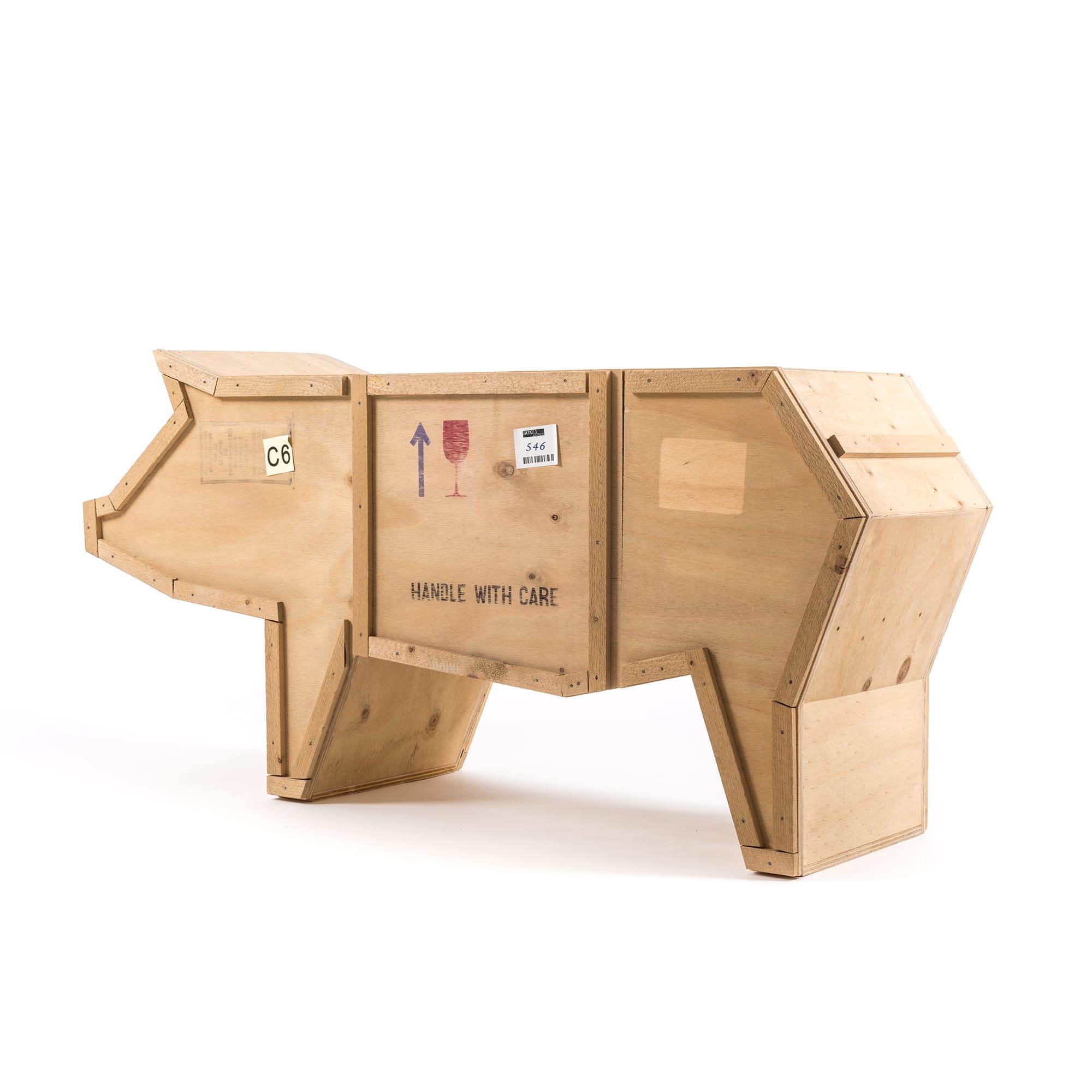 创意动物木质书柜 3