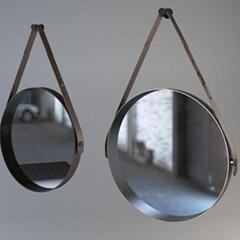 皮革梳妝鏡