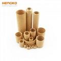 Nickel or stainless steel filter tubes