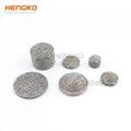 Stainless steel filter or felt sintered filter element 2