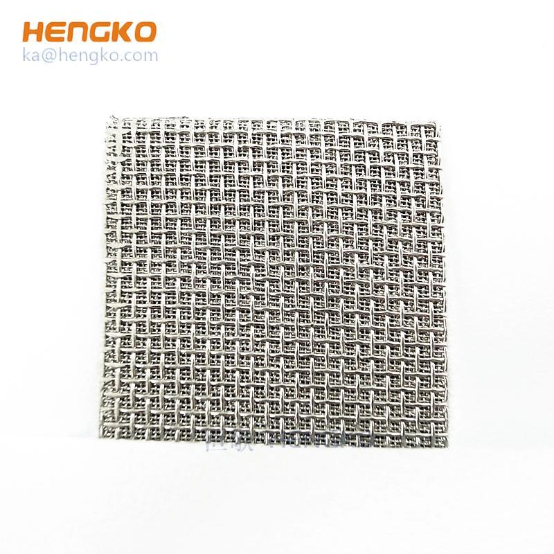 Stainless steel filter or felt sintered filter element 4