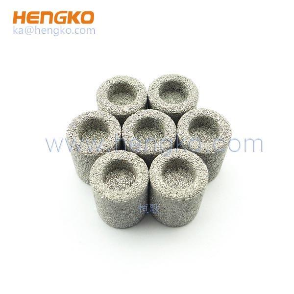 Stainless steel filter or felt sintered filter element 5