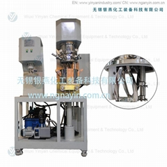 lab scale double planetary mixer machine