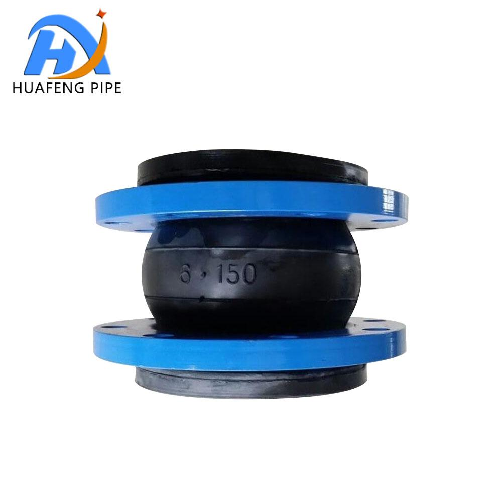 Flange Type Rubber Bellows Expansion Joint For Pipe Fitting 1