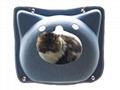 New Arrival Felt Cat House Flower Shape Pet Cave Dog Bed 4