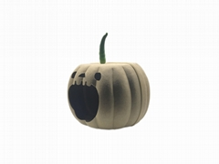 Felt Cat Cave Pet House Dog Bed Lovely Pumpkin Shape