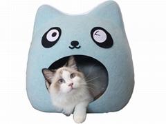 Felt Cat Cave Pet House