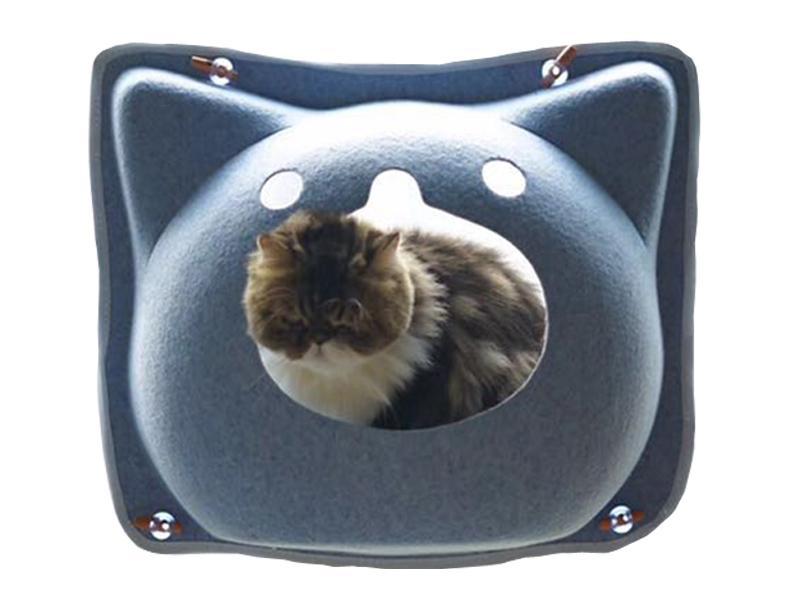 Comfortable Wool Felt Dog Cat Bed Pet House 4