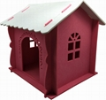 New Arrival Luxury Felt Assembled Cat House 2