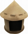 New Arrival Luxury Felt Assembled Cat House 5