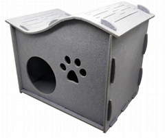 Comfortable Luxury Assembled Curve Cat Cave Pet House New Arrival
