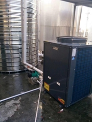 空气能热水器商用热泵二联供设备