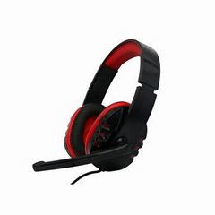 立体声电脑游戏耳机带环绕音效