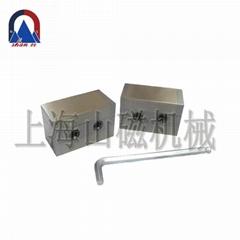 上海山磁定製各種規格磁力吸盤SMYC吸力100磨床雙面永磁吸盤