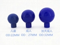 Electrocardiogram ball suction for children and adults