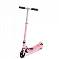 child folding and adjustable electric kick scotoer for kids