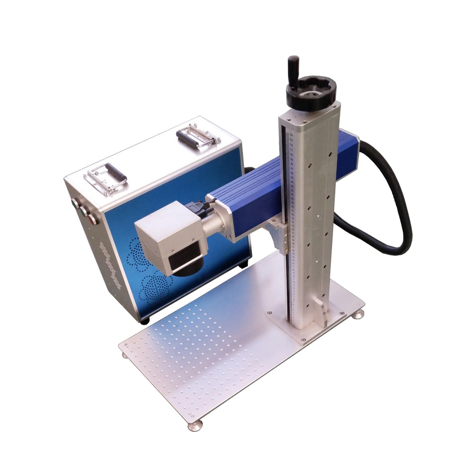徼熙雕刻加工激光打标机20W分体式 1