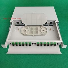 24core SC port rack mount drawer sliding type fiber optical distribution frame