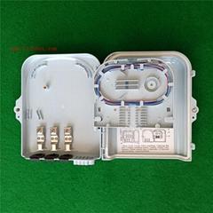 wall mount 8 core SC port  ftth fiber distribution box