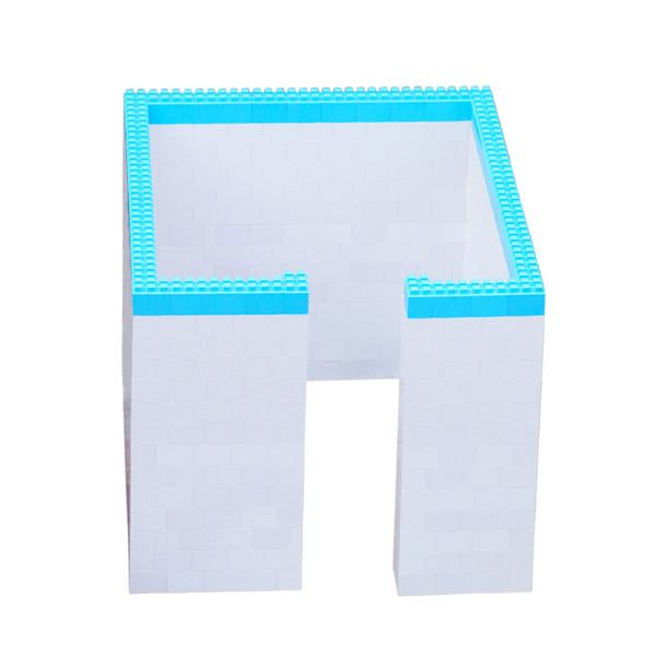 DIY House Building plastic block wall cladding side panel changing room holiday  1