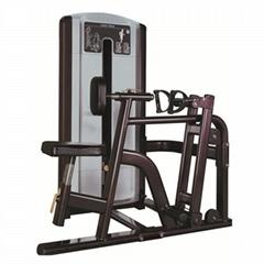 Robot Welding Fitness Equipment Seated Row Machine