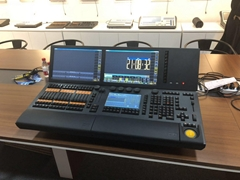 MA lighting console tiger touch light console