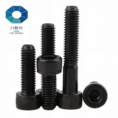 Hex bolts with nuts