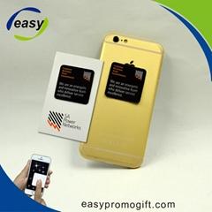 Custom logo printing microfiber screen cleaner wipes for mobile phone