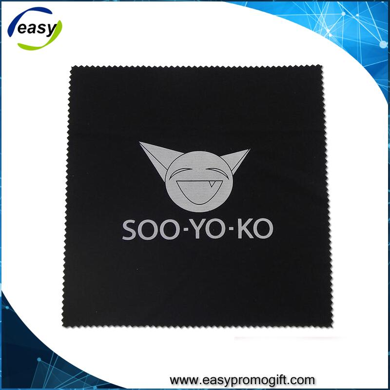 silver polishing clothhot stamp printed Microfiber Eyeglasses Cleaning Cloth 5