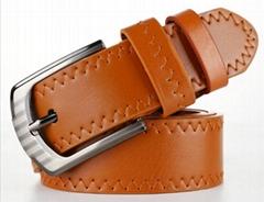 Men's PU Belt With Metal Buckle