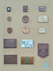 PU Label and Leather Patches for  Garment