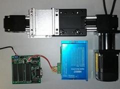 電腦控制單軸數控直線運動導軌機械手臂滑台開發學習控制套件
