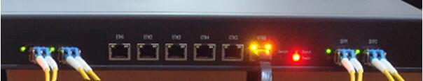 光纖接口SFP接口GPS/BD北斗雙模衛星系統同步NTP網絡時間服務器 1