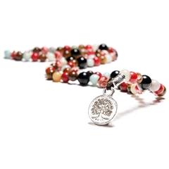 Lifetree Color Gemstones Handmade Fashion Jewelry Pendant Beaded Necklaces