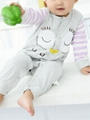Cartoon Owl Pattern Newborn Infant Overalls Jumpsuit Long-sleeved Wholesale 3