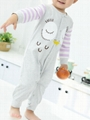 Cartoon Owl Pattern Newborn Infant Overalls Jumpsuit Long-sleeved Wholesale 4