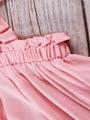 Summer Toddler Baby Girl Frilled Pink Sundress Wholesale 3