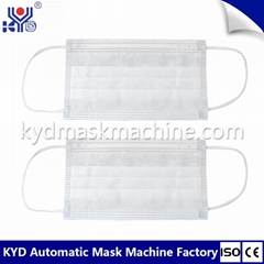 High speed face mask mask machine