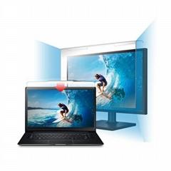 Laptop Desktop Screen Protector Blue Light Blocking filter Removable