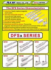 DFSM/DFSJ/DFSU Magnetic Sensors
