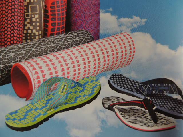 迷彩加木屑EVA/PE/塑料发泡鞋材制品 3