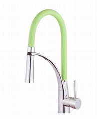 Kitchen faucet and basin faucet