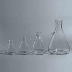 125ml to 10000ml Glass Filtration Suction Flask With One Side Upper Mouth, Labor