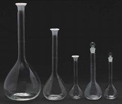 WB-3101 Lab glassware borosilicate 3.3 glass volumetric flask  China manufacture