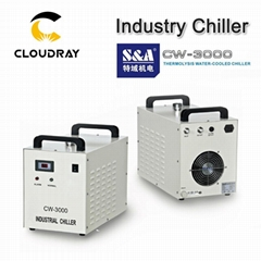Cloudray Laser Equipment Parts Industrial Water Cooling Chiller CW3000 / CW