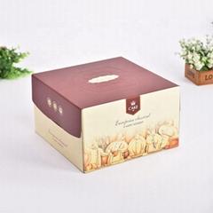 可折叠食品级纸板蛋糕盒用于蛋糕包装